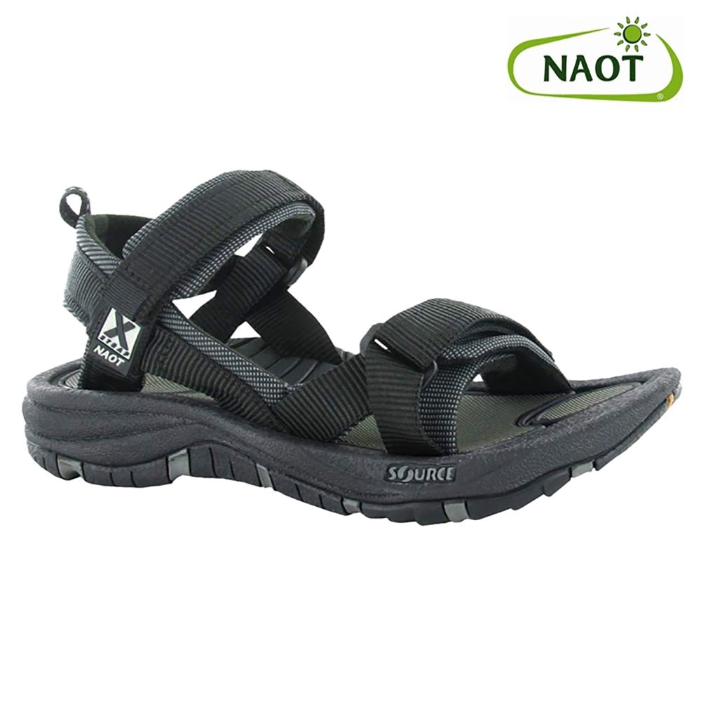 NAOT 女 越野運動涼鞋 HARBOR 38506X10 黑色