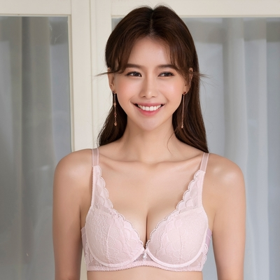 莎薇-VV好愛現 D-E 罩杯內衣(粉)