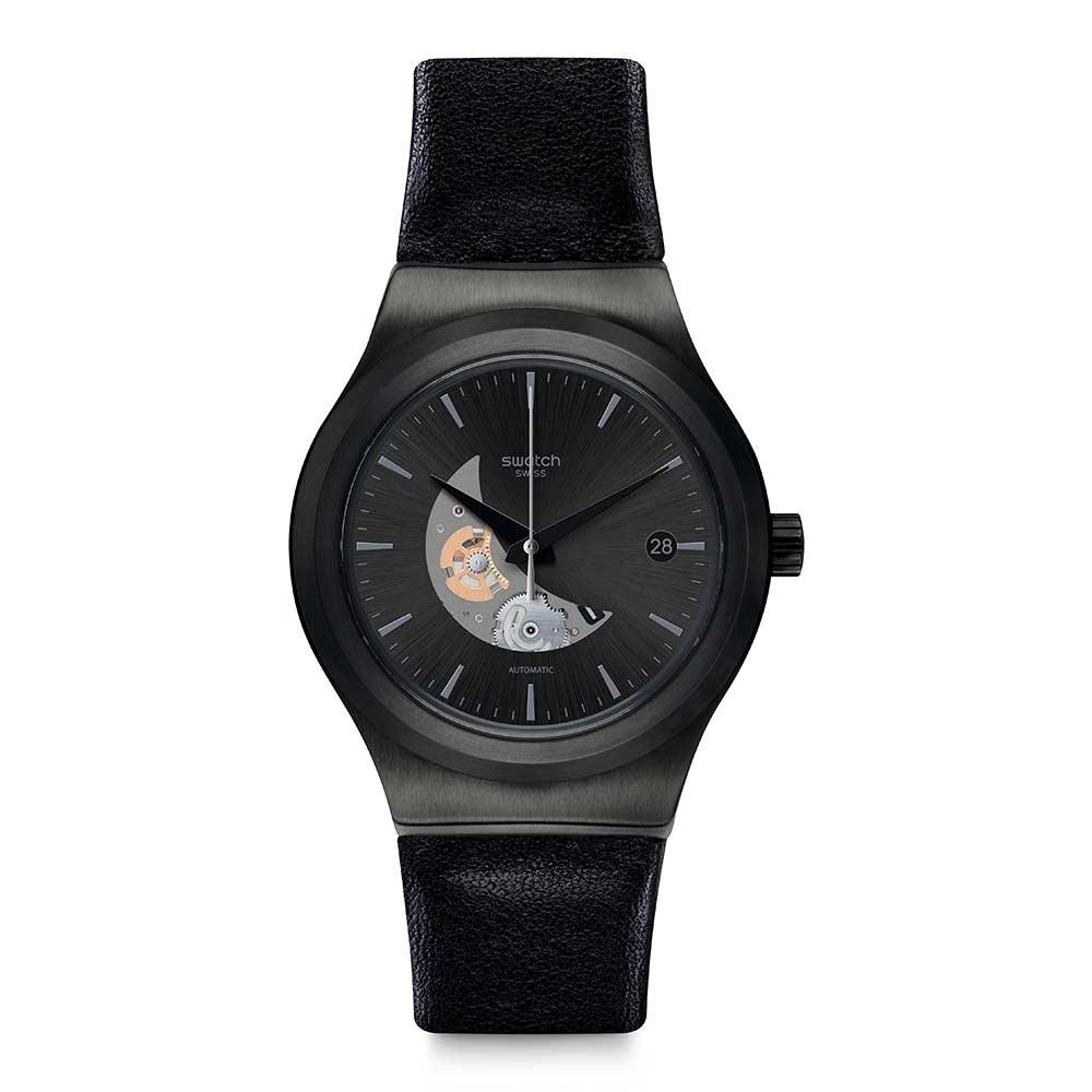 Swatch 51號星球 機械錶 SISTEM PILOTE 優游天際 -42mm