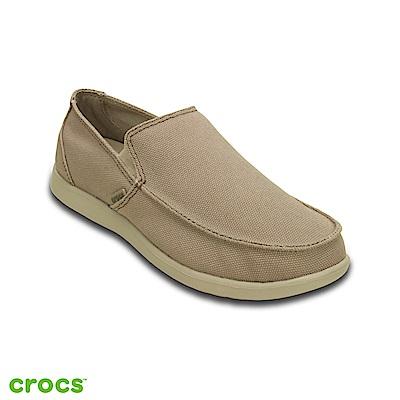 Crocs 卡駱馳 (男鞋) 聖克魯茲簡約樂福鞋 202972-2U6