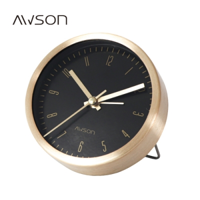 AWSON奢華金屬小鬧鐘AWK6009