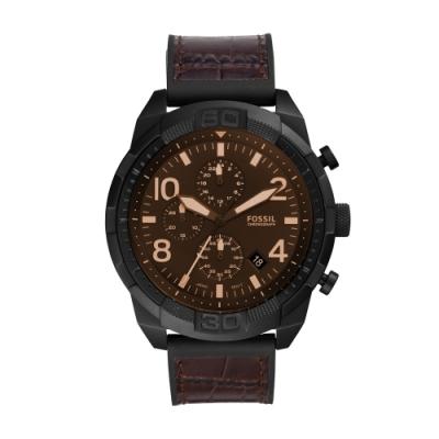 FOSSIL 移動城市型男腕錶(FS5713)50mm