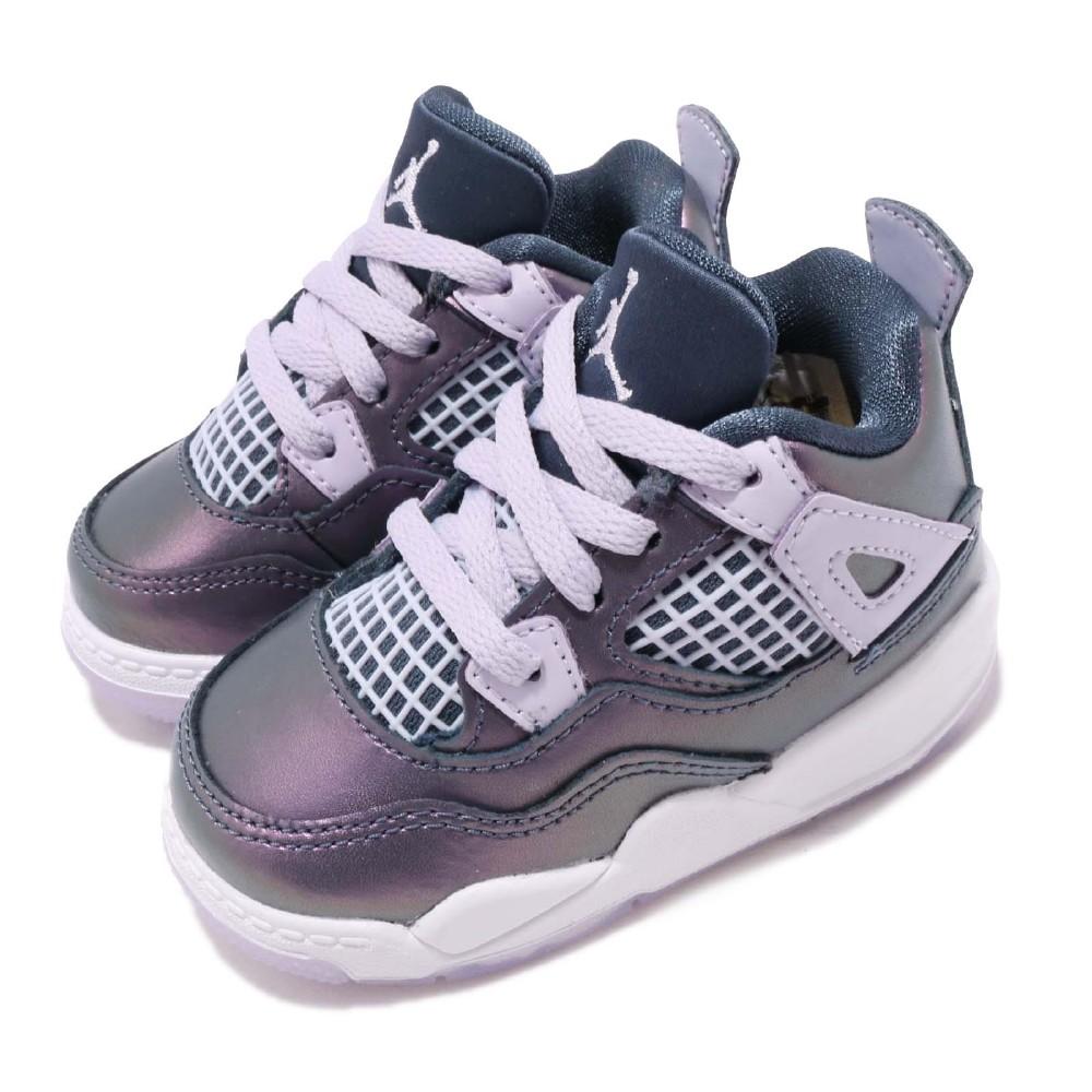 Nike 籃球鞋 Jordan 4 Retro 童鞋