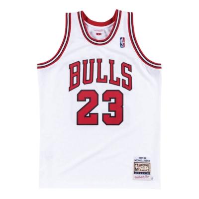 M&N Authentic球員版復古球衣 公牛隊 97-98 #23 Michael Jordan