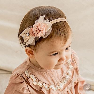 Happy Prince韓國製 Espoir緞帶蕾絲花朵女嬰兒童髮帶