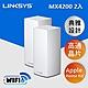 Linksys Velop 三頻 MX4200 Mesh WiFi6網狀路由器(二入) (AX4200) product thumbnail 2