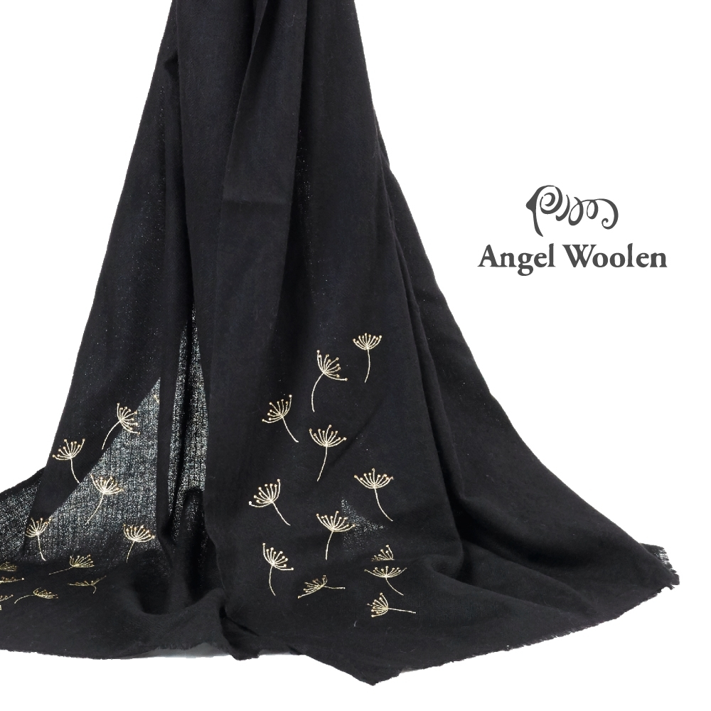 【ANGEL WOOLEN】永恆閃耀印度手工水鑽披肩(共三色)