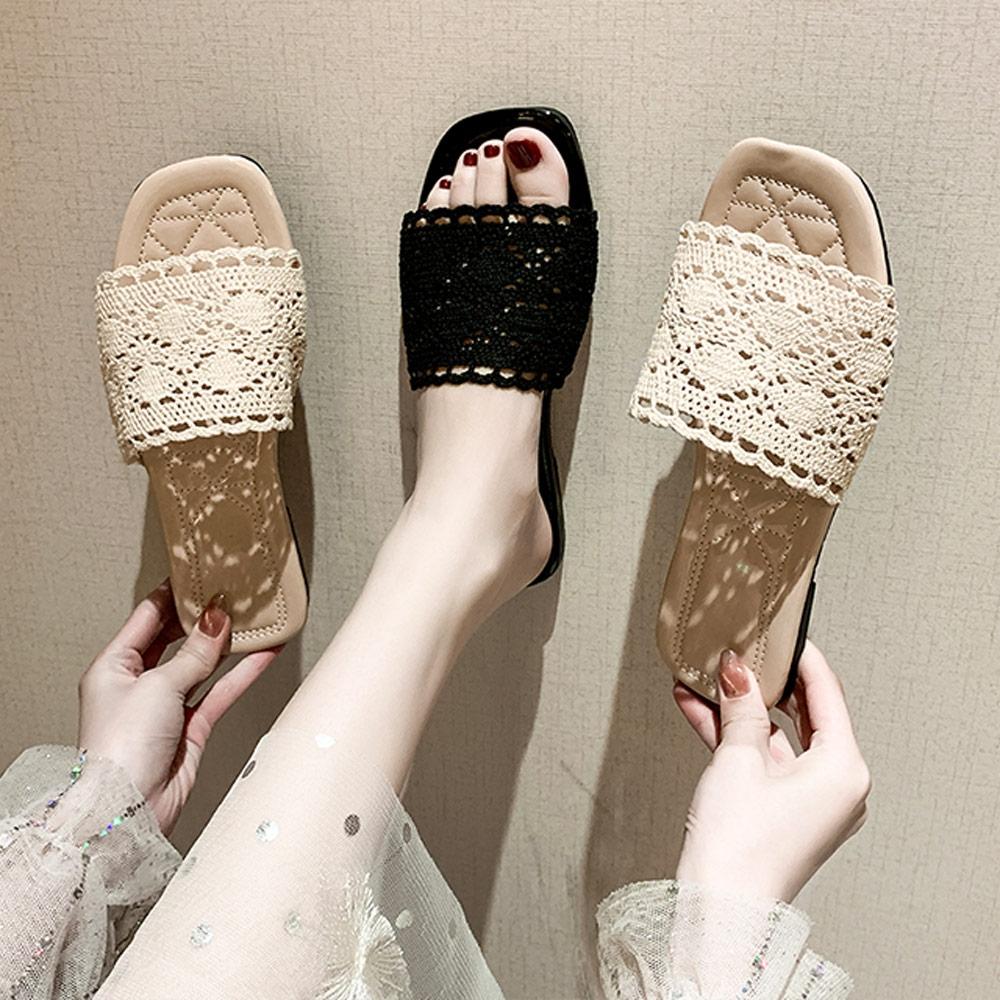 KEITH-WILL時尚鞋館-獨賣甜心單品涼托鞋(涼鞋/涼跟鞋)(共2色) (米白色)
