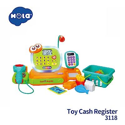 香港HOLA幼兒聲光玩具-智能互動學習收銀台 3118