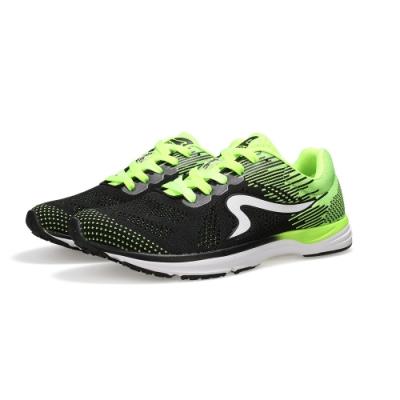 【ZEPRO】男子雲豹 LEOPARD 系列競速路跑鞋-螢綠黑