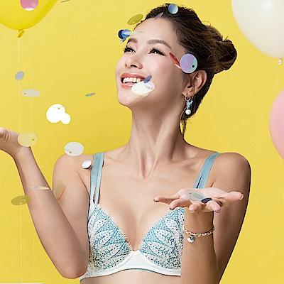 莎薇-好愛現月桂女神 D-E 罩杯內衣(白)