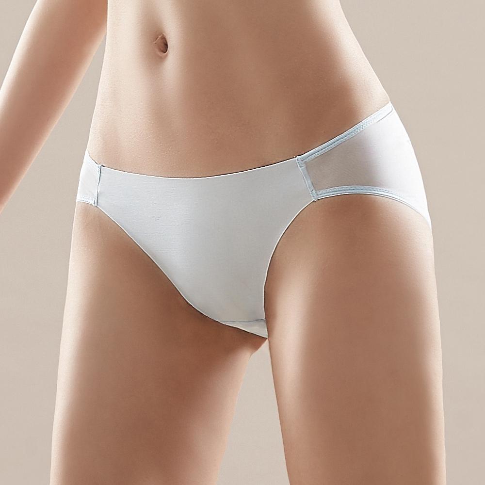 蕾黛絲-舒芙蕾無鋼圈搭配低腰內褲 M-EL 天空藍