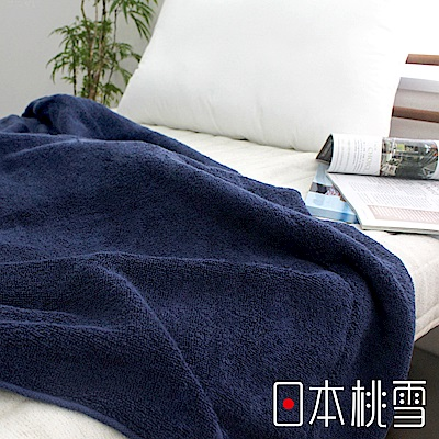 日本桃雪今治飯店毛巾被(靛藍)