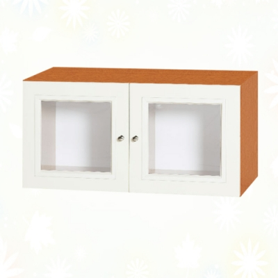 文創集 克爾 環保2.7尺南亞塑鋼雙開門置物櫃/收納櫃-80.8x41.5x40.4cm免組