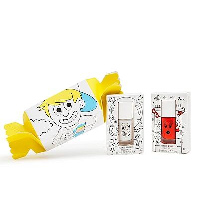 Nailmatic Kids 小男孩糖果紙盒組 - Super與朵莉