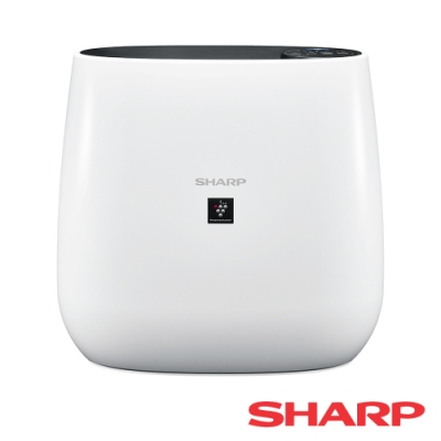 SHARP夏普 7坪 自動除菌離子清淨機 FU-J30T-W 白色