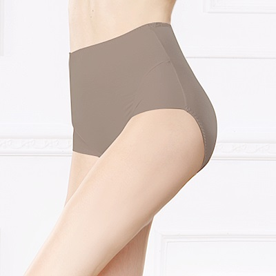 內褲 保養絲蛋白L-2XL蜜桃褲 可可咖 可蘭霓Clany