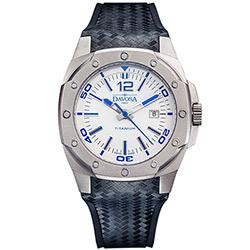 DAVOSA NEW Titanium 極限競技純鈦手錶-白/47mm