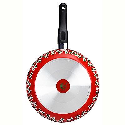 義廚寶 菲麗塔系列 28cm深平底鍋 FE02-1 義式風情(獨家搭贈專用蓋+蝶型荷木鏟)