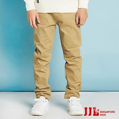 JJLKIDS  英倫學院直筒休閒褲(卡其)
