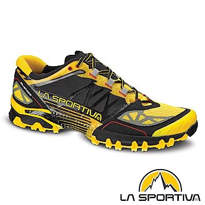【ATUNAS 歐都納】LA SPORTIVA男跑鞋LA-26KBY黑黃15