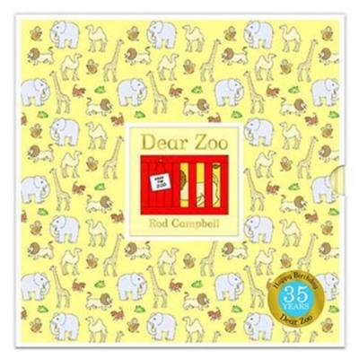 Dear Zoo 35th 可愛動物園35週年版精裝翻翻書