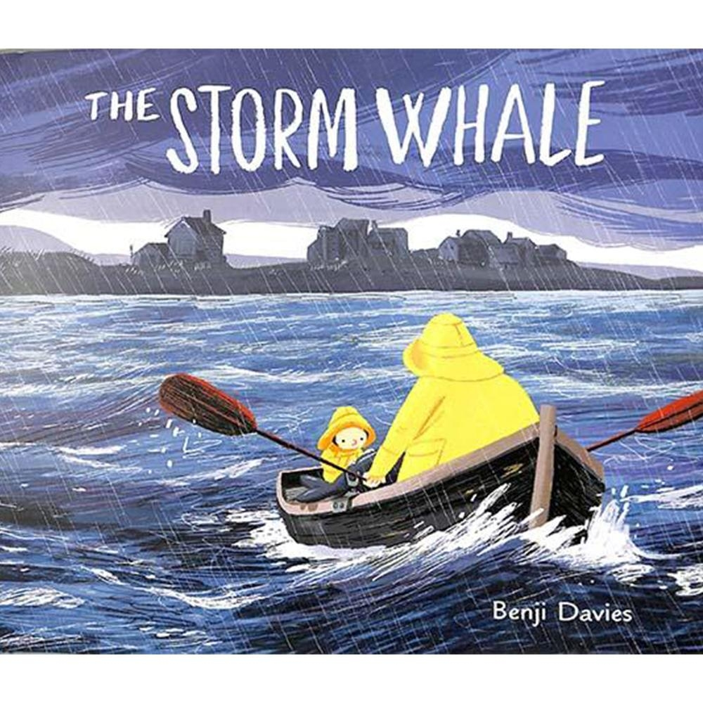 The Storm Whale 鯨魚與我精裝繪本(美國版)