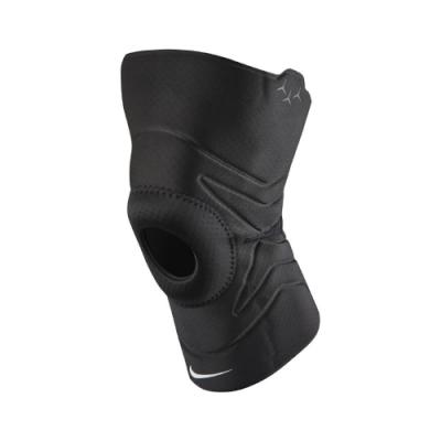 Nike 護膝Open Patella Knee Sleeve 護具 健身 重訓 開洞 吸濕排汗 透氣 黑 白 N1000675010