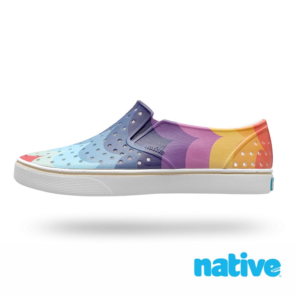 native MILES 男/女鞋-彩虹浪潮