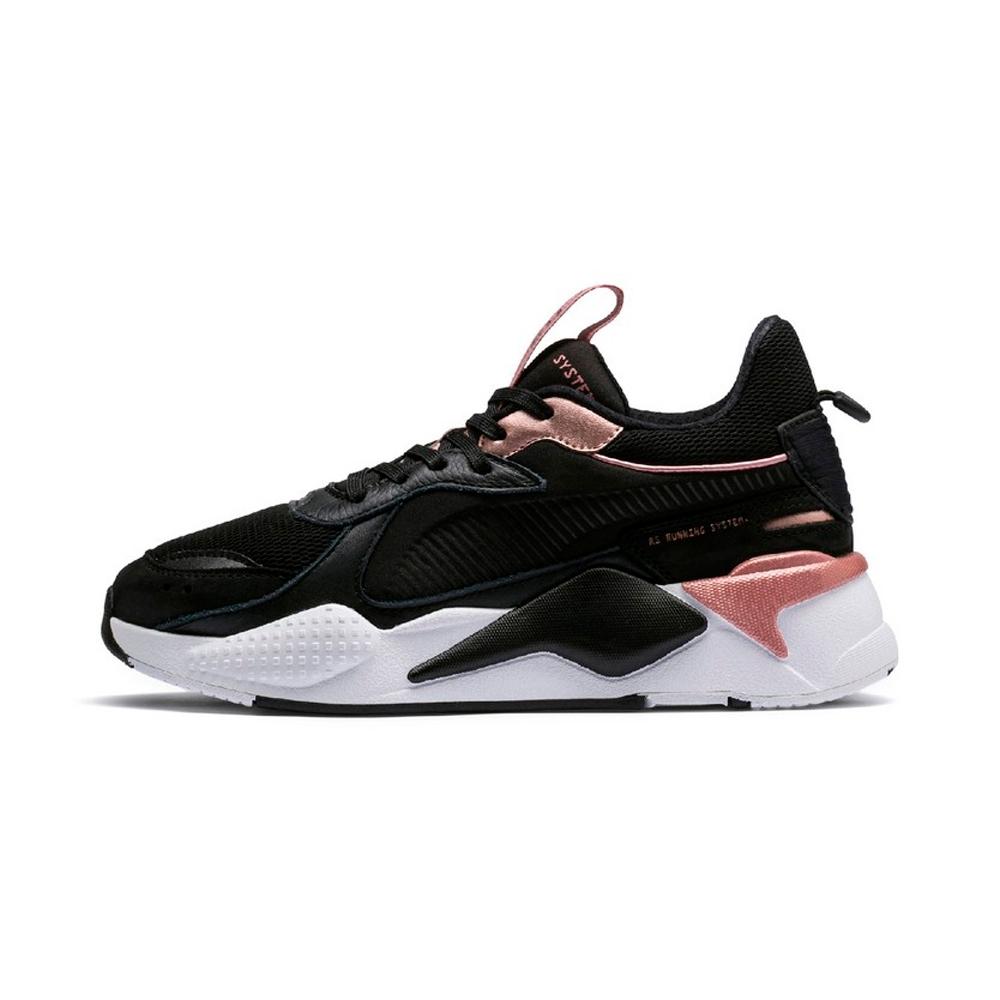 PUMA-RS-X TROPHY 女性復古慢跑運動鞋-黑色