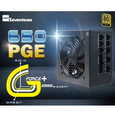 七盟 ST-650PGE 金牌/全模/DC-DC/主日系 電源供應器
