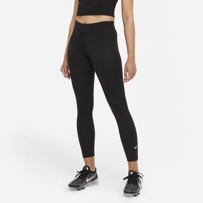 Nike NSW ESSNTL 7/8 MR LGGNG 緊身 女運動長褲-黑-CZ8533010