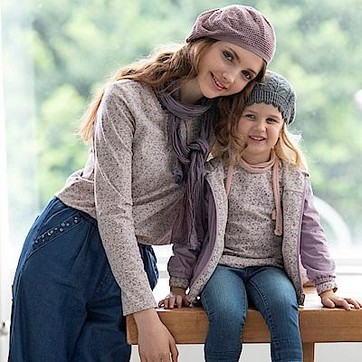 PIPPY 鄉村風格上衣 紫