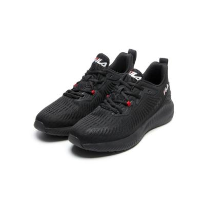 FILA SHADOW WALKER 男慢跑鞋-黑 1-J314V-000