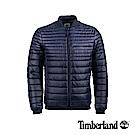 Timberland 男款深寶石藍保暖棉收納式頭枕休閒外套|A1OLO