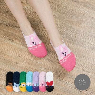 阿華有事嗎 韓國襪子 阿米最愛隱形襪 韓妞必備船襪 正韓百搭卡通襪