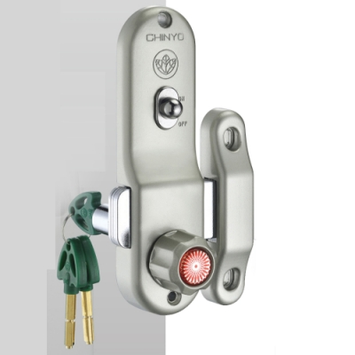 767 青葉牌鉤鎖 1000型高級鋁門鎖(三代 五面/心動鑰匙 鎖管長52mm)落地門鎖