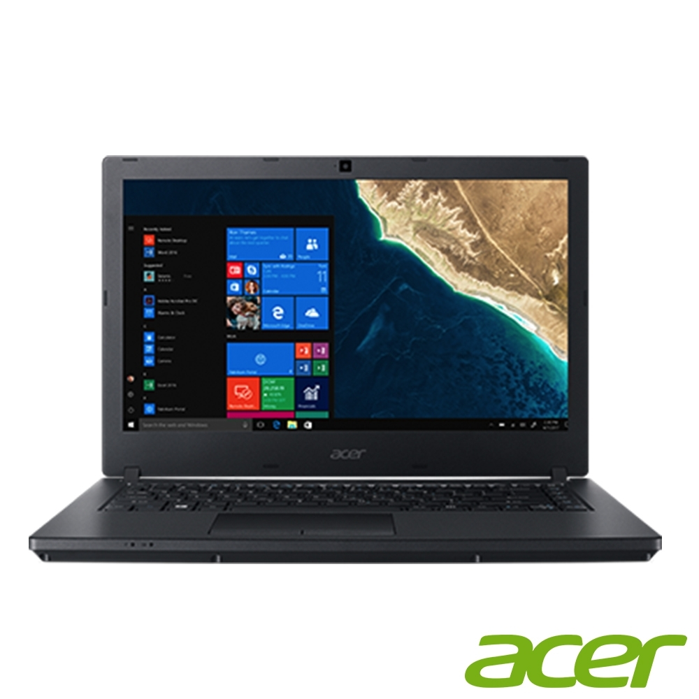 Acer TMP2410 14吋商用筆電(i5-8250U/MX130/8G/256G+500GB/黑)