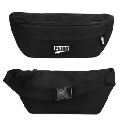 PUMA DECK大腰包-臀包 斜背包 側背包 反光 自行車 07716801 黑白