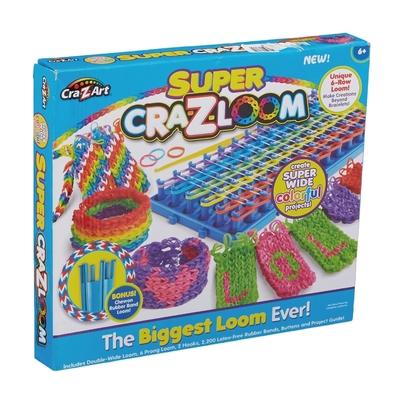 【美國Cra-Z-Art】Cra-Z-Loom 彩虹圈圈編織旗艦組(編織器+環形編織器+橡皮筋)