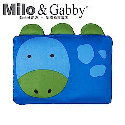 Milo&Gabby 動物好朋友-嬰兒枕頭套(DYLAN恐龍)