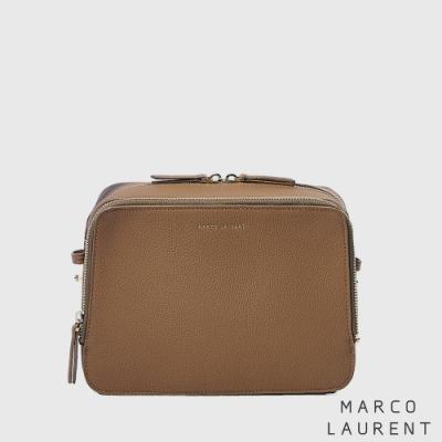 MARCO LAURENT Blink 雙層肩背方包 - 棕色