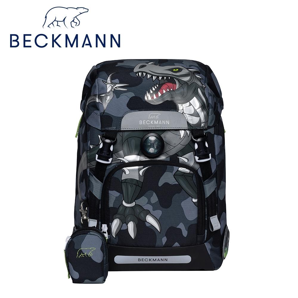 Beckmann-兒童護脊書包22L-酷帥黑恐龍