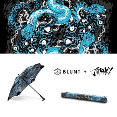 2020 Blunt + Jordam Debney 限量聯名傘 – 舞龍蛇_Classic_ 圖騰直傘大號