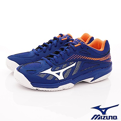 MIZUNO童鞋 避震緩衝排球鞋款 ON80300藍(中大童段)