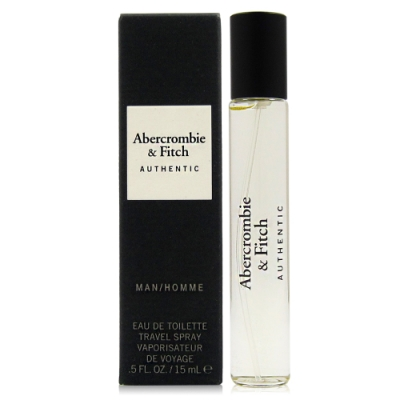 Abercrombie&Fitch Authentic A&F 真我男性淡香水15ml