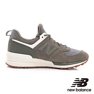 [時時樂限定]NEW BALANCE574復古鞋 WS574SFJ女性軍綠