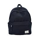 J II 經典水洗防潑水後背包-黑色-6296-1