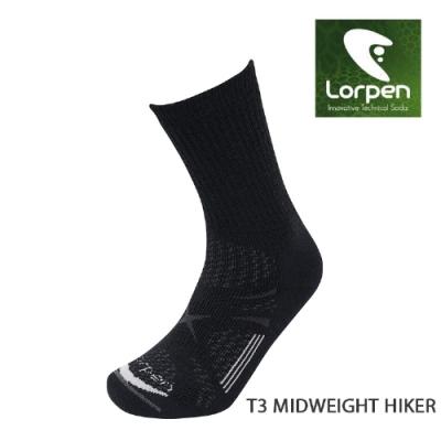 Lorpen T3 Primaloft美麗諾羊毛健行襪T3MM(III)