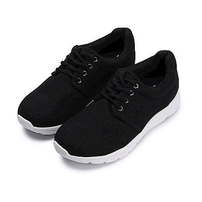 BuyGlasses 低調元素女款慢跑鞋-黑